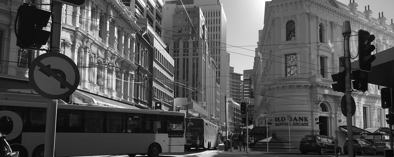 Lambton Quay Intersection - Gibson Sheat