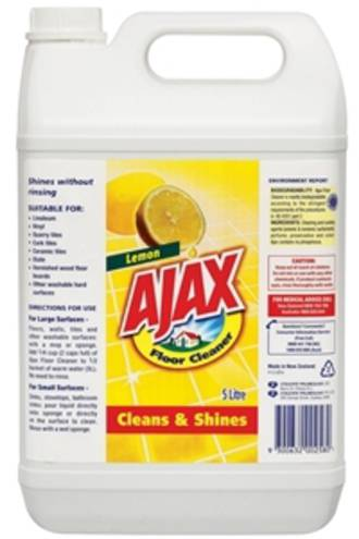 Ajax Floor Cleaner Bottle 5l