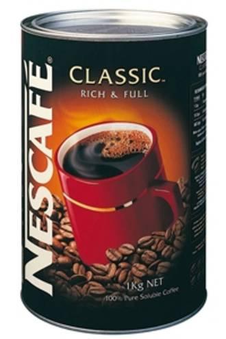 Nescafe Coffee Instant Classic TinUnits:  1x1kg