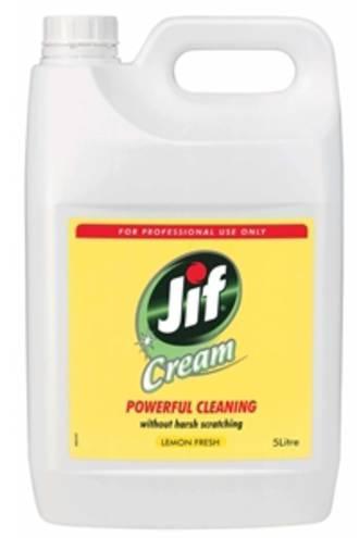 Jif Creme Cleanser Lemon Bottle 5l