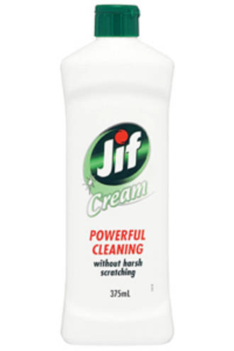 Jif Creme Cleanser Regular Bottle 375ml