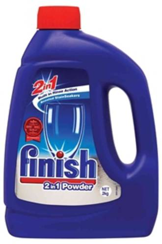 Finish Dishwash Powder Regular Bottle 2kg