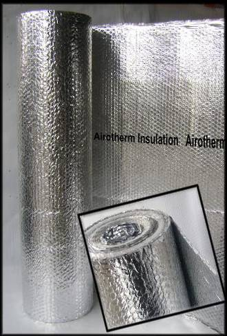 Airotherm roll - 1500mm x 100m (Single layer of foil.)