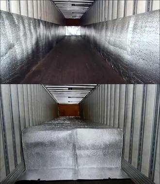 Custom Tailored Shipping Insulation Kit