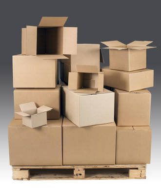 Cartons - Boxes No1 - 360mm x 235mm x 160mm