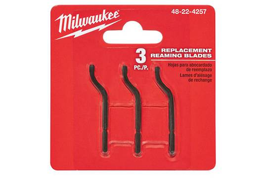 MILWAUKEE REAMING BLADES (3 pack)