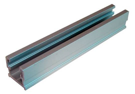 ALUM SLIDING TRACK - SINGLE TOP (1m)