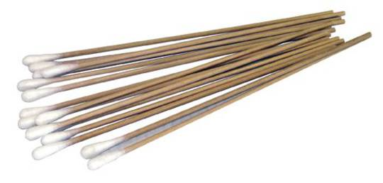 CRL COTTON SWAB WITH WOOD SHAFT