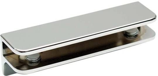 SHELF BRACKET CHROME - GLASS 10mm