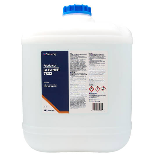 GLASSCORP CLEANER 7803 - 20L