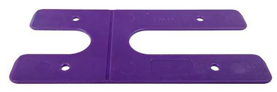 H PACKERS LONG - PURPLE 1.0mm (100 pack)
