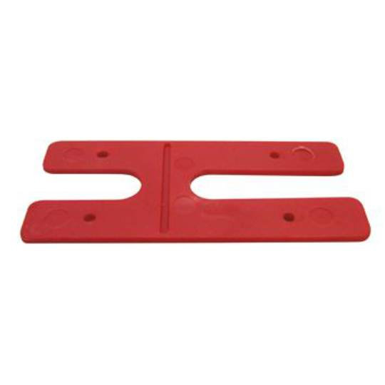 2.0MM H PACKERS - RED (BOX OF 500)