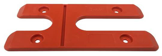 3.0MM H PACKERS - ORANGE(BOX OF 100)LONG