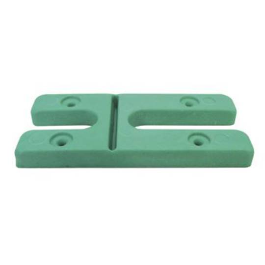 H PACKERS- GREEN 8.0mm (100 pack)