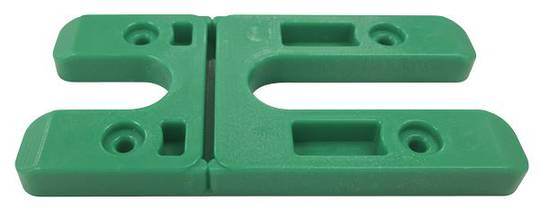 H PACKERS LONG - GREEN 8.0mm (100 pack)