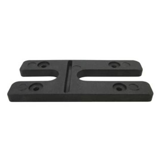 6.0MM H PACKERS- BLACK (BOX OF 500)
