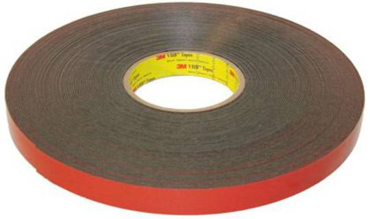 3M VHB 4991 (GREY) -2mm x 12.7mm x 33m