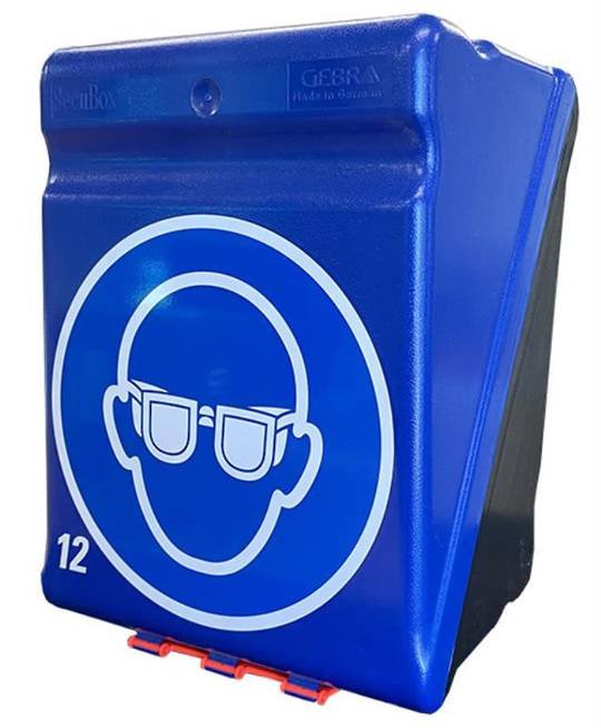 SAFETY GLASSES STORAGE BOX - LARGE