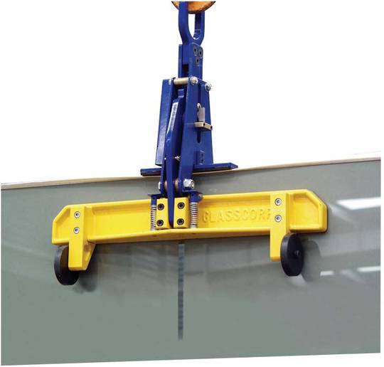 PLATE GLASS LIFTING CLAMP