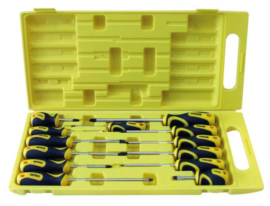 SCREWDRIVER SET - 13 PIECE