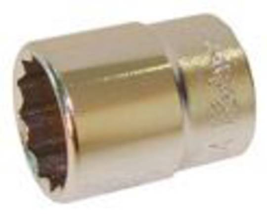 "1/4"" DRIVE SHORT REACH SOCKET - 13mm"
