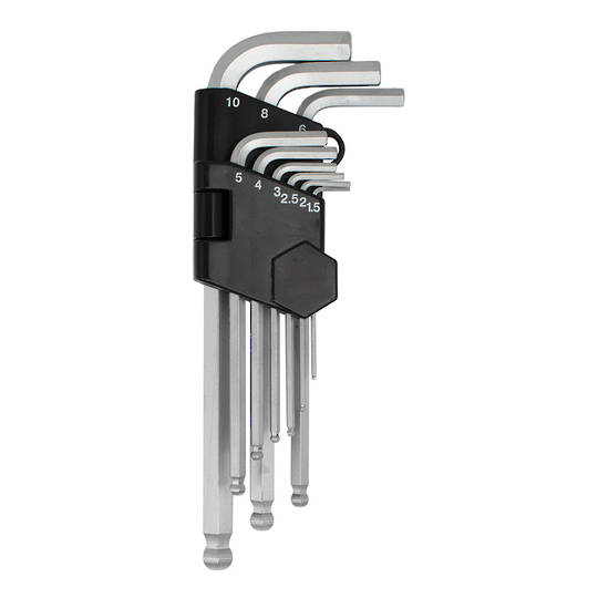 BALL END HEX WRENCH SET - METRIC