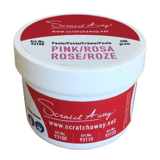 SCRATCH AWAY - PINK POLISHING PASTE