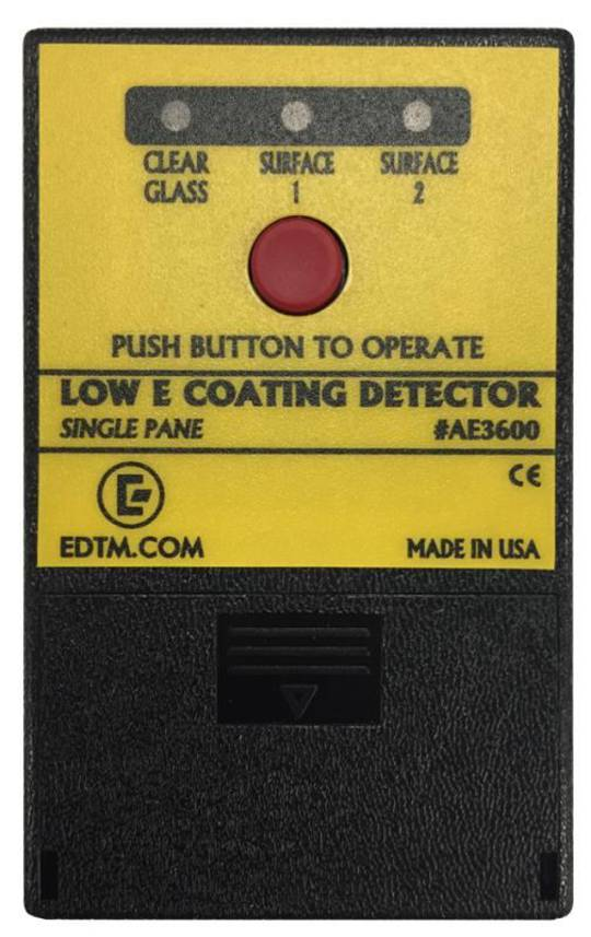 AE3600 LOW E COATING DETECTOR