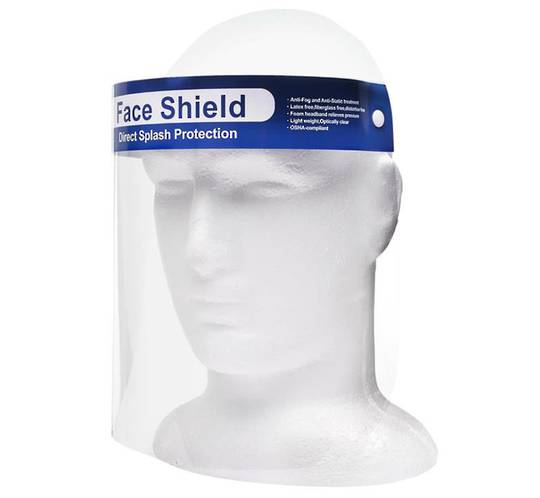 FACE VISOR - ANTI SPLASH (10 pack)