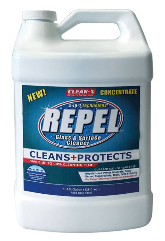 REPEL GLASS CLEANER CONCENTRATE - 1gal