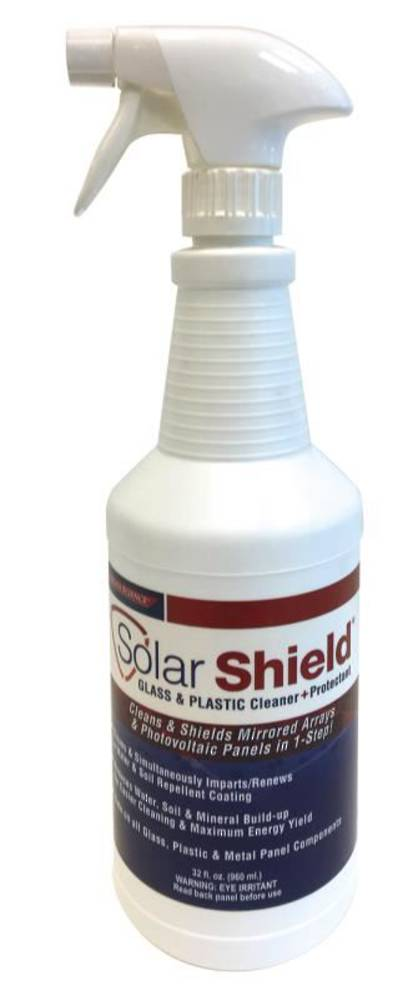 SOLAR SHIELD GLASS AND PLASTIC CLEANER