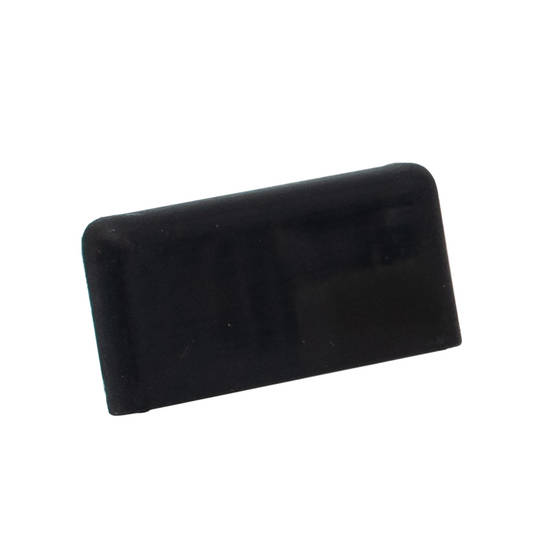 FINELINE SQUARE END CAP - BLACK L/H