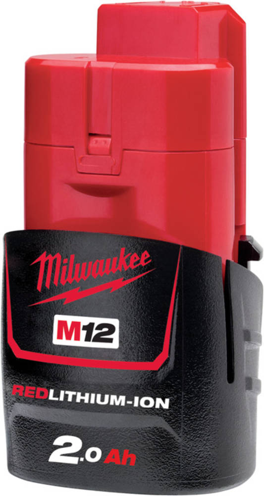 MILWAUKEE M12 REDLITHIUM 2.0Ah BATTERY