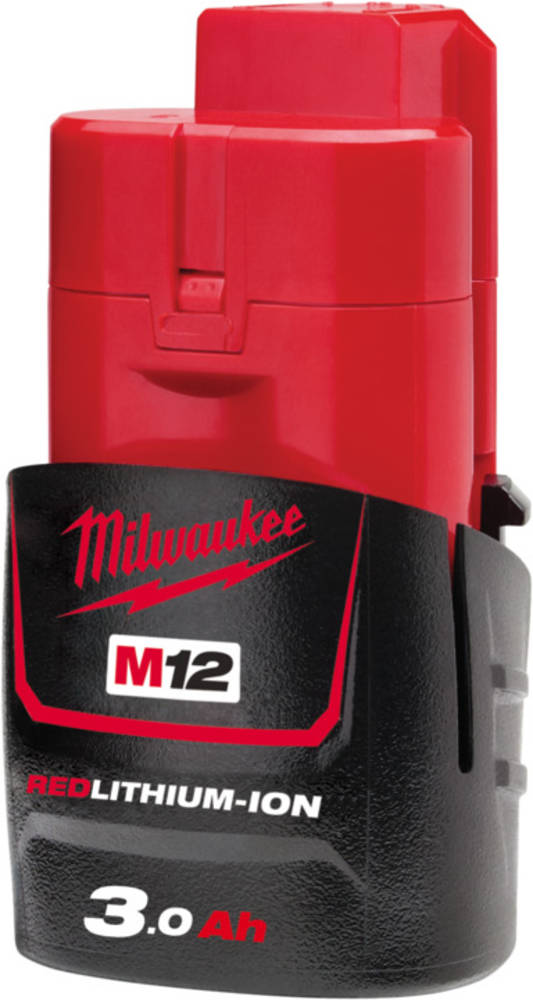 MILWAUKEE M12 REDLITHIUM 3.0Ah BATTERY
