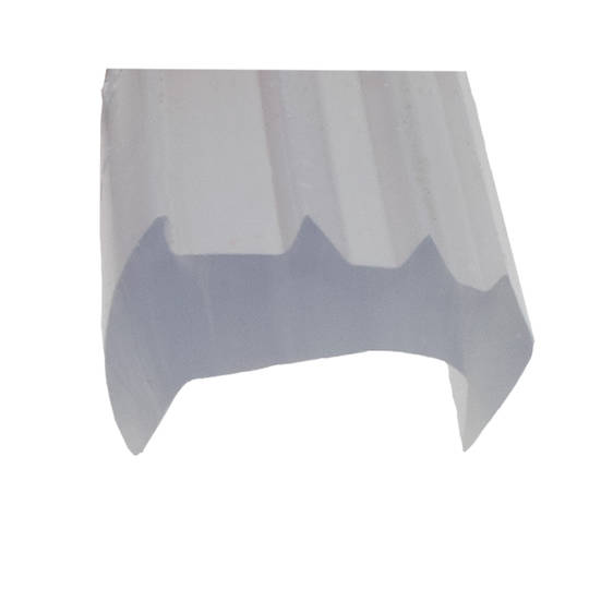 FINELINE WEDGE RUBBER CLEAR - LARGE