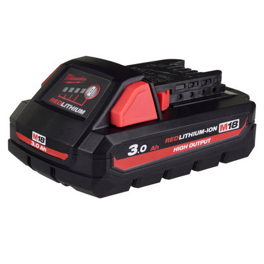 MILWAUKEE M18 REDLITHIUM 3.0Ah BATTERY