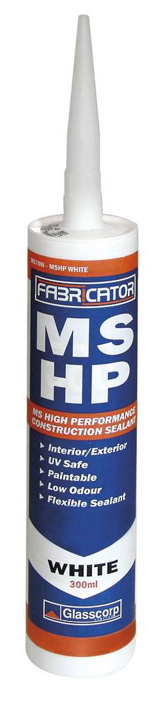 GLASSCORP MSHP SEALANT - WHITE 300ml