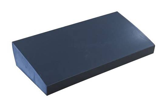 SILICONE SETTING BLOCK - SLOPED