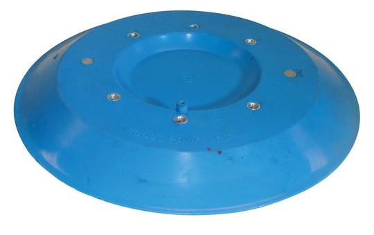 "WOODS SUCTION LIFTER PAD - 11"" BLUE"