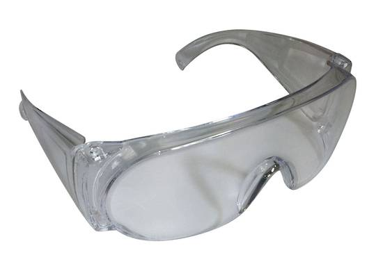 SAFETY GLASSES CLEAR - OVER WEAR