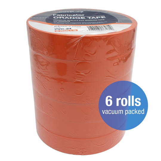 PREMIUM ORANGE PVC TAPE - 24mm
