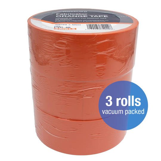 PREMIUM ORANGE PVC TAPE - 48MM