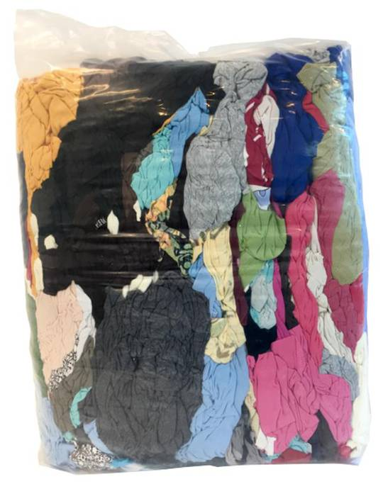 COLOURED RAGS - 10kg