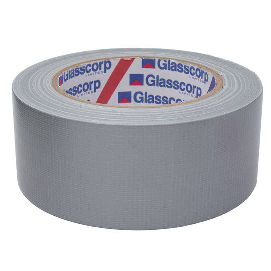 ECONOMY CLOTH TAPE - SILVER 48mm