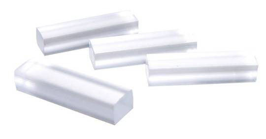PVC CLEAR SETTING BLOCK 4mm x 8mm x 30mm