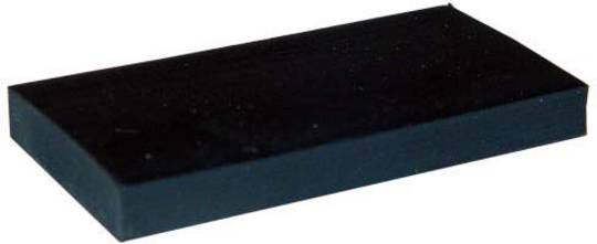 SILICONE SETTING BLOCK 6mm x 25mm x 50mm