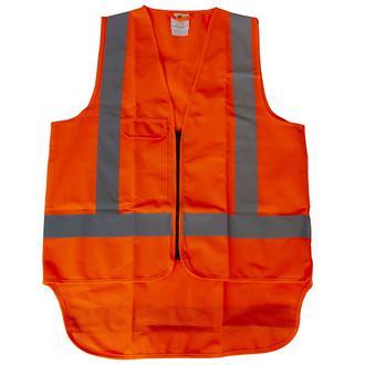 ORANGE SAFETY VEST - LARGE
