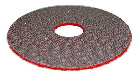 TELUM GRINDING DISC -  200 GRIT RED