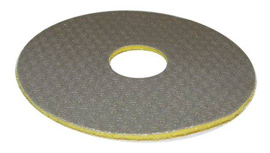 TELUM GRINDING DISC - 400 GRIT YELLOW