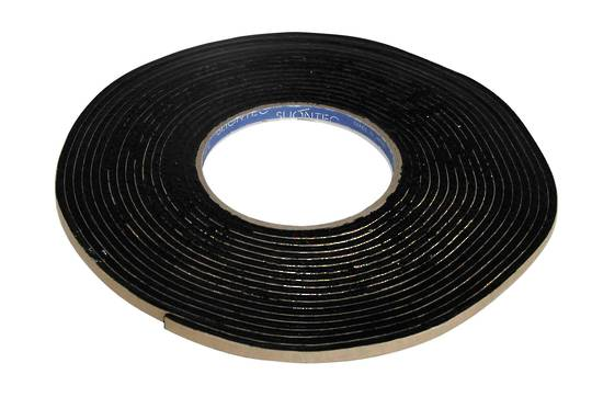 BUTYL TAPE 1.0MM X 10.0MM X 15M